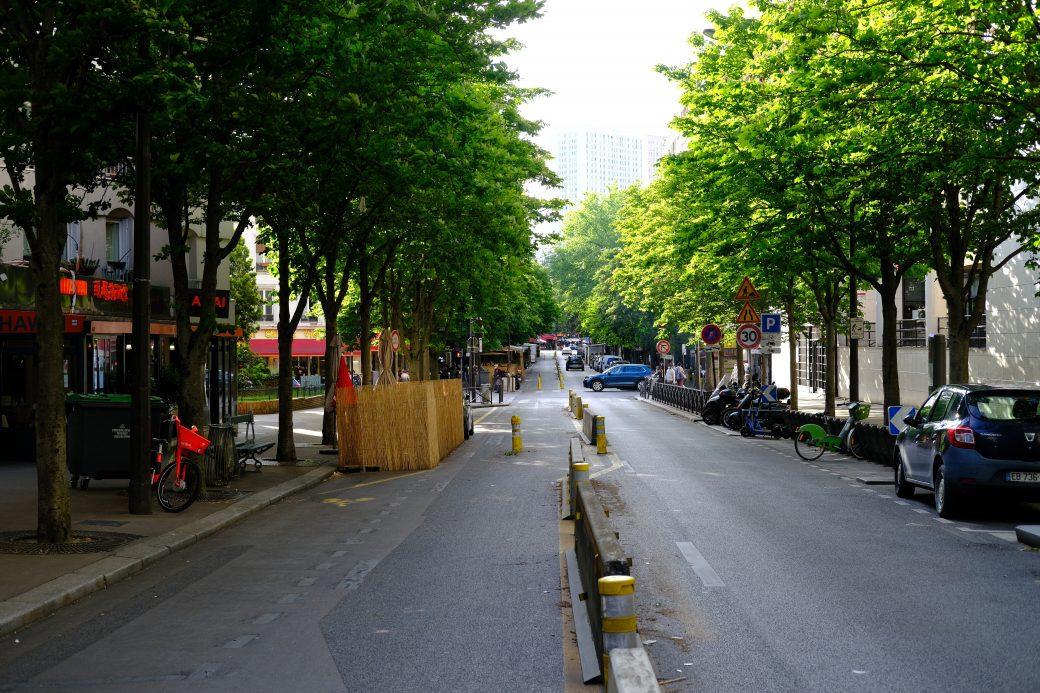 L'avenue d'Ivry l'une de rues les plus animées du quartier chinois de Paris