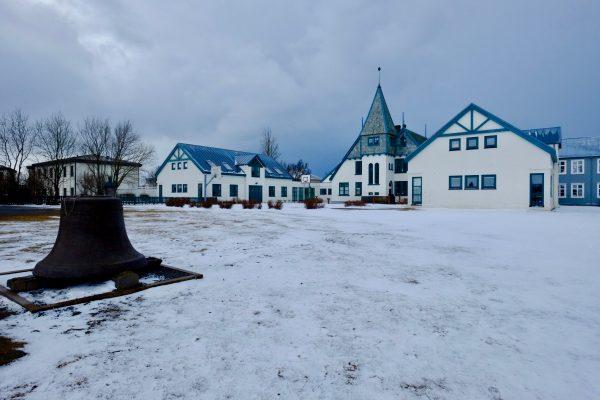 L'école privée de Landakot, l'une des toutes premières écoles d'Islande