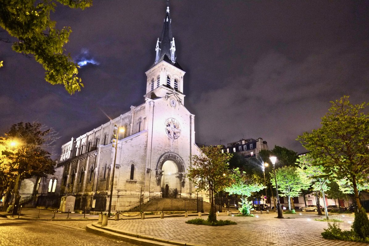 L'église Notre Dame de la Gare dans le 13 ème arrondissement de Paris