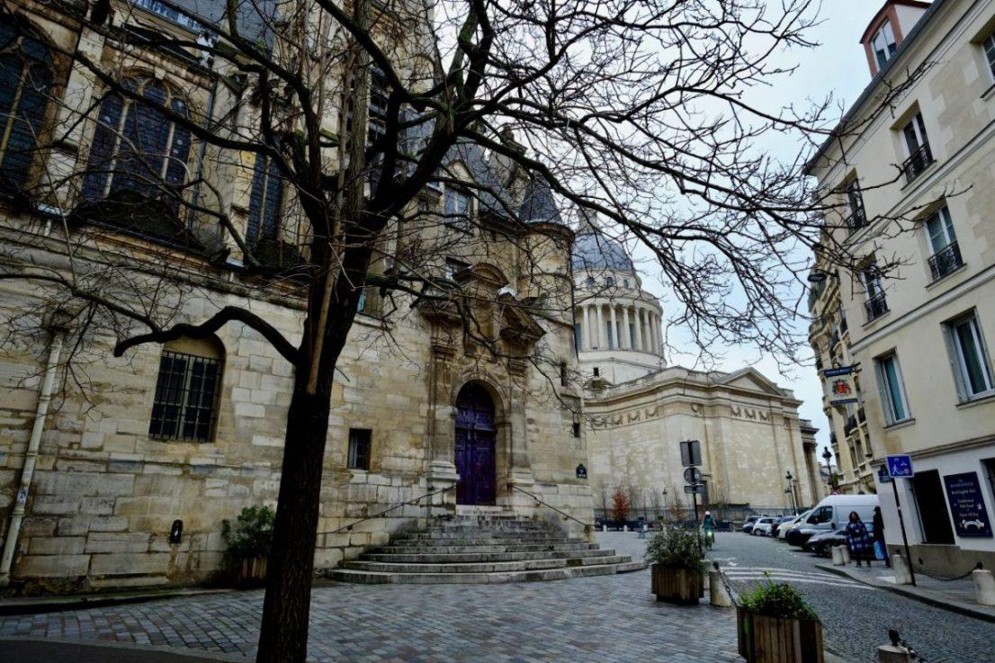 Le Panthéon et l'église Saint-Etienne du Mont