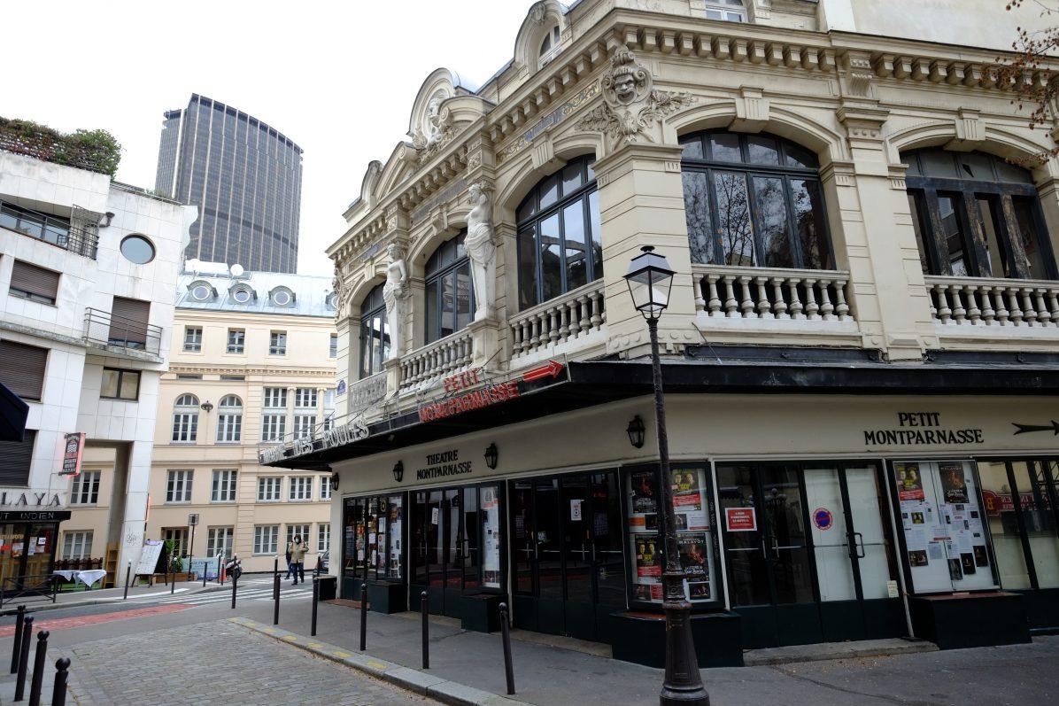 Le joli théâtre Montparnasse, rue de la Gaité