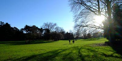 Le parc Montsouris en hiver
