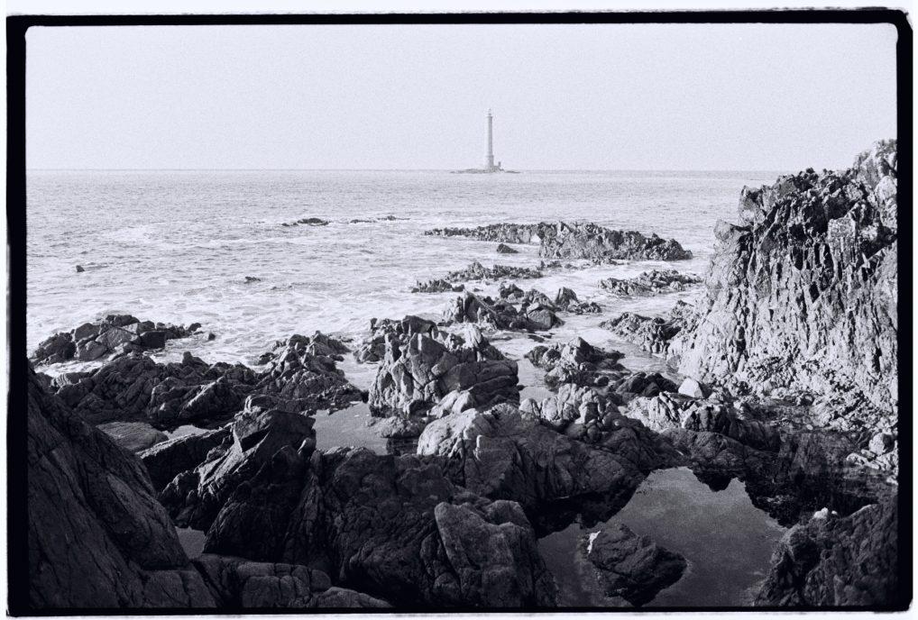 Le phare de Goury dans le nord-ouest du Cotentin