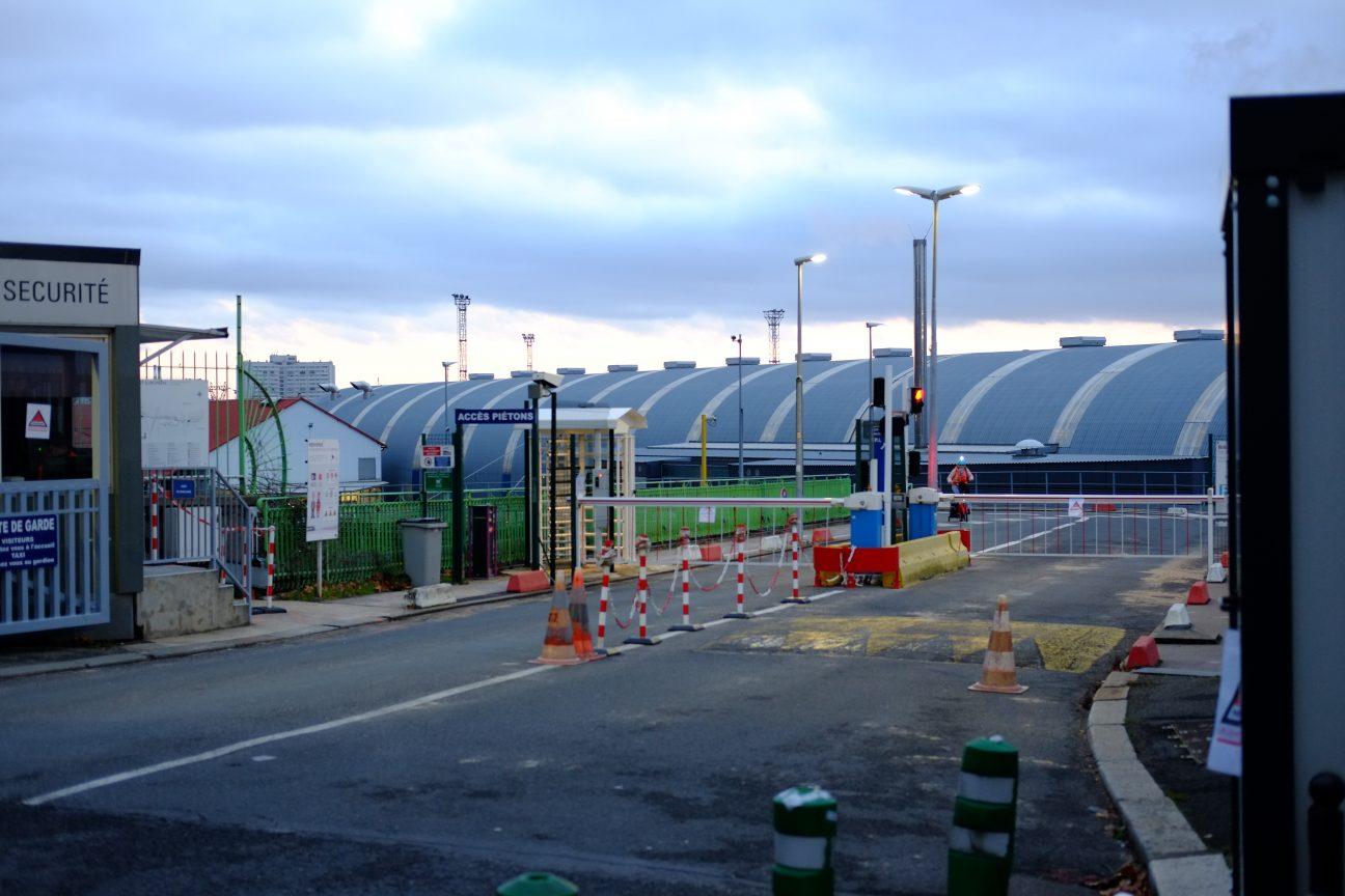 L'entrée du Technicentre de la SNCF dans le 12 ème arrondissement de Paris
