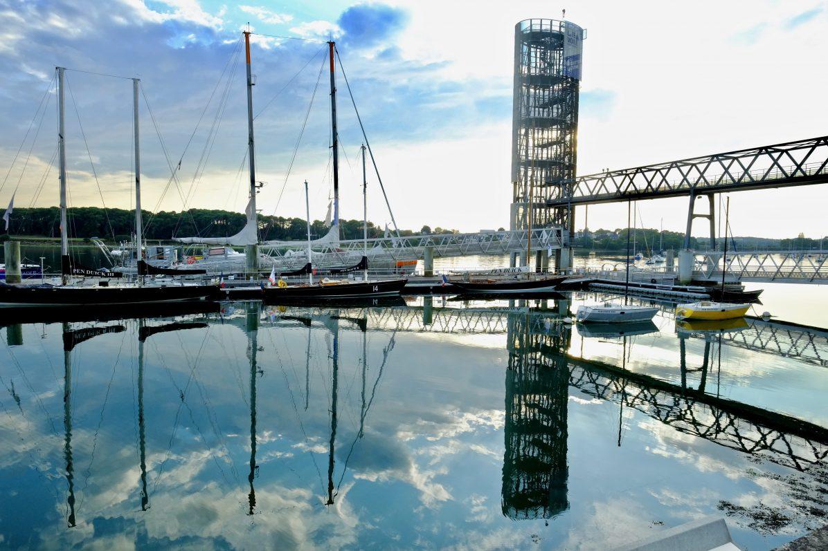Les Pen Duick à quai à Lorient