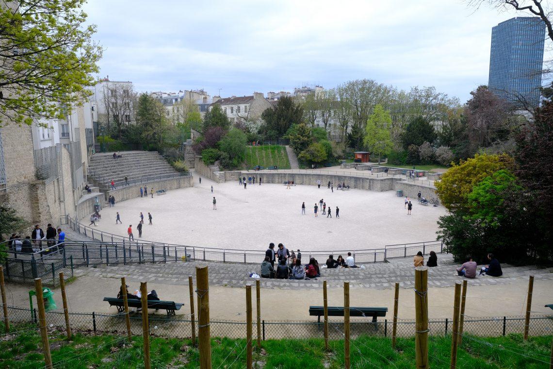 Les arènes de Lutèce l'une des choses à voir dans le 5 ème arrondissement