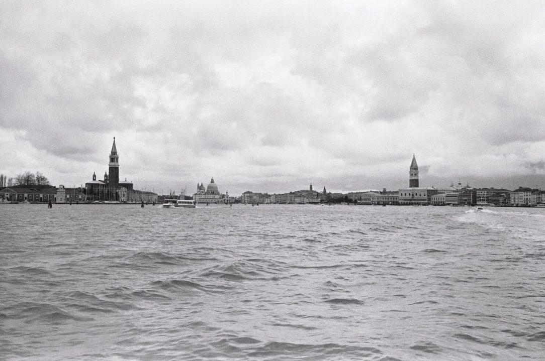 Les eaux de la lagune de Venise