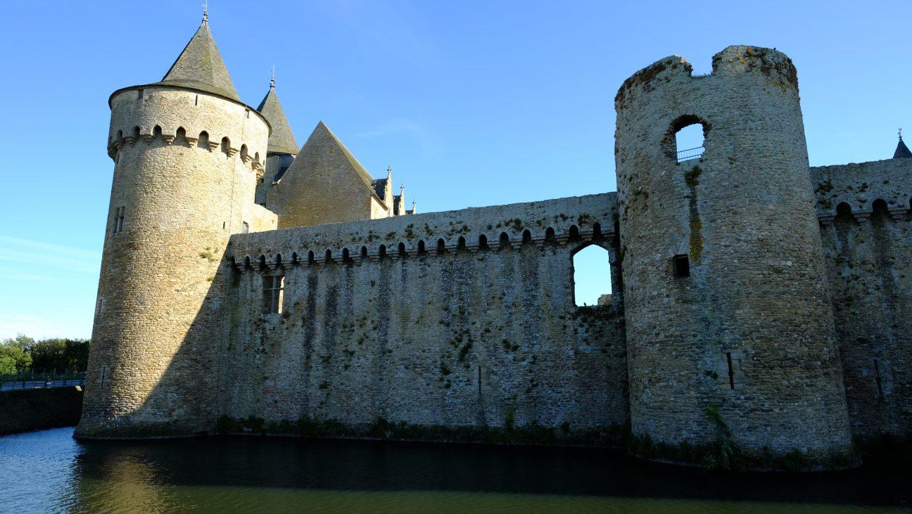 L'imposant château de Suscinio sur la presqu'île de Rhuys