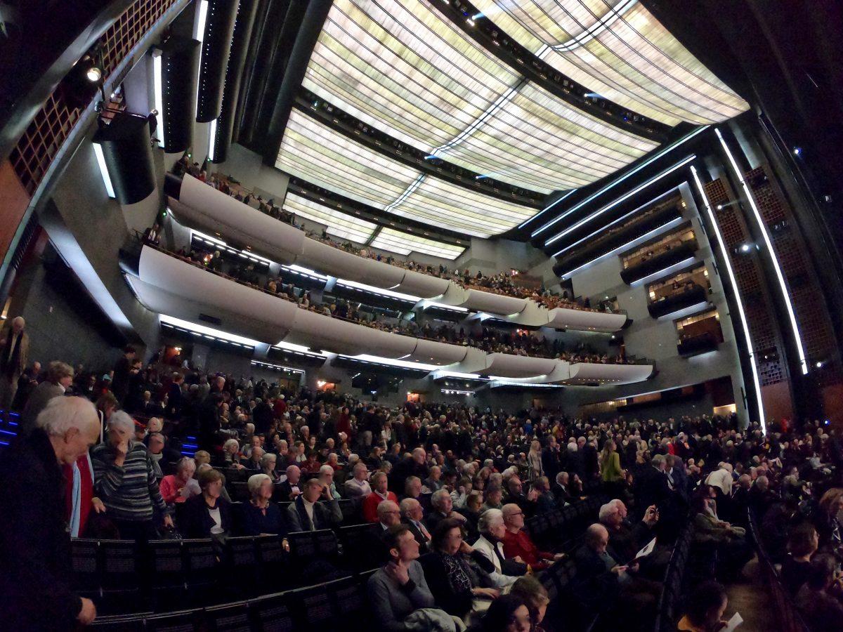 L'opéra Bastille, l'une des plus grandes salles de Paris