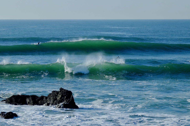 L'une des meilleures sessions de surf à la govelle fin novembre 2020