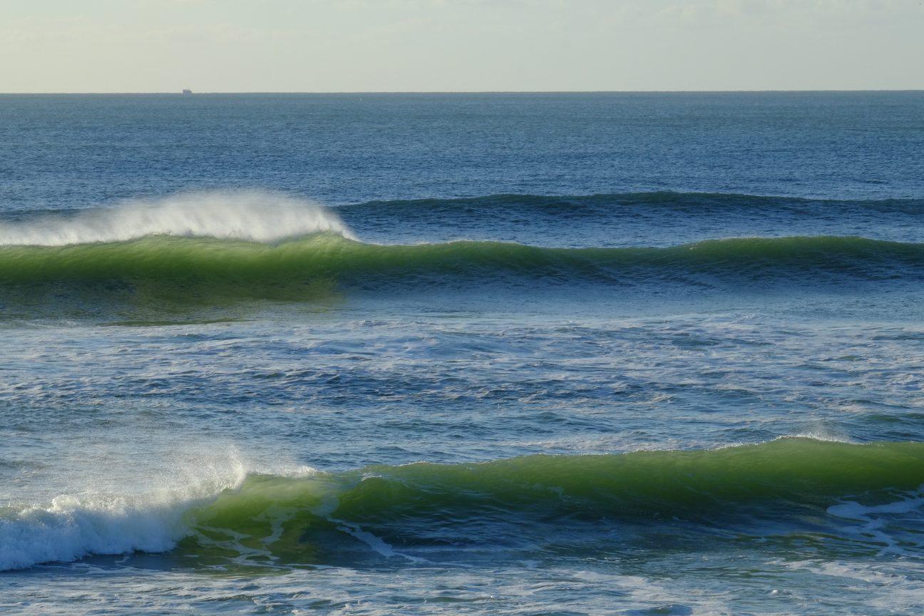 Sûrement l'une des plus belles vagues de la Govelle, le meilleur spot de surf de Loire Atlantique