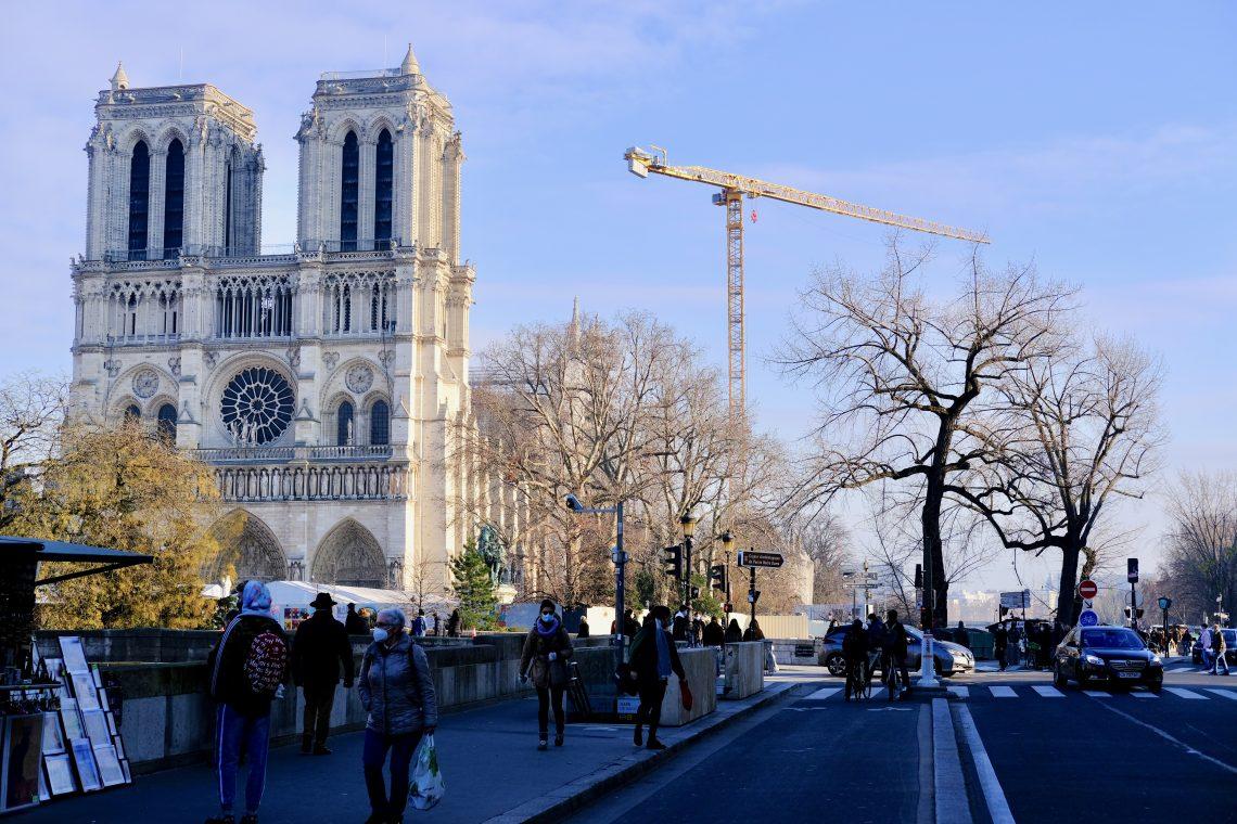Sur le quai Montebello dans le 5 ème arrondissement de Paris