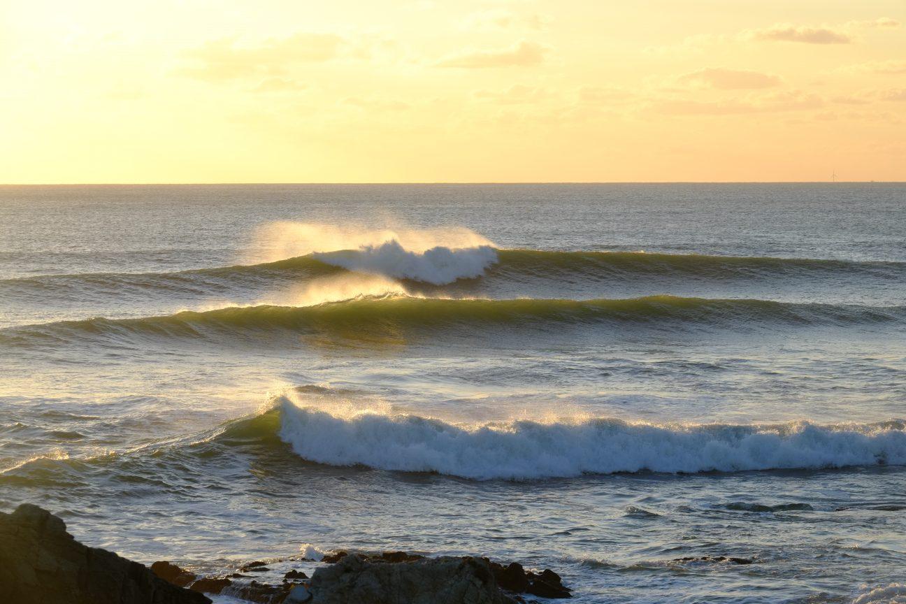 Un petit air de Californie sur le spot de surf de la Govelle