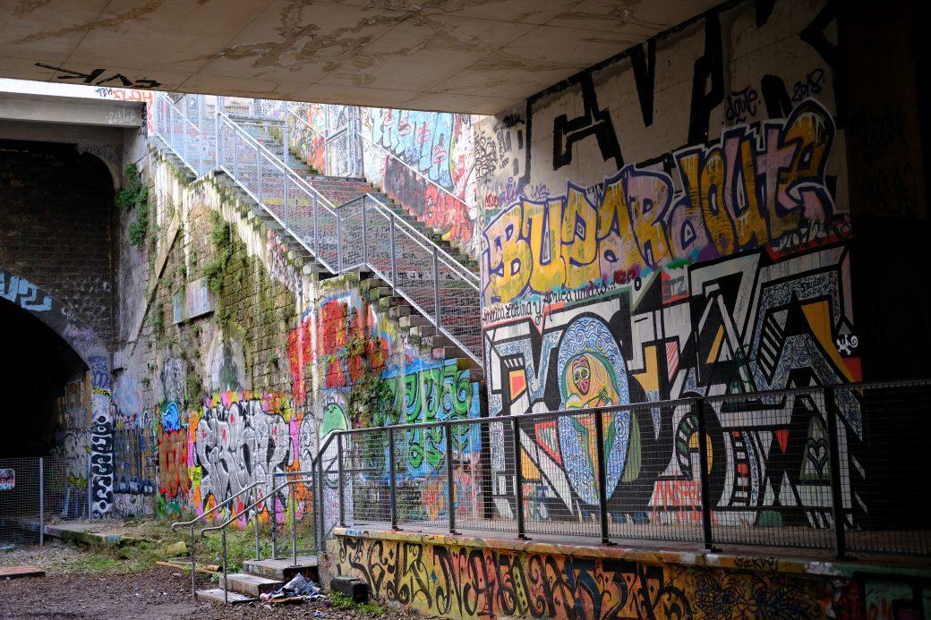 Un superbe spot de street art dans le 14 ème arrondissement