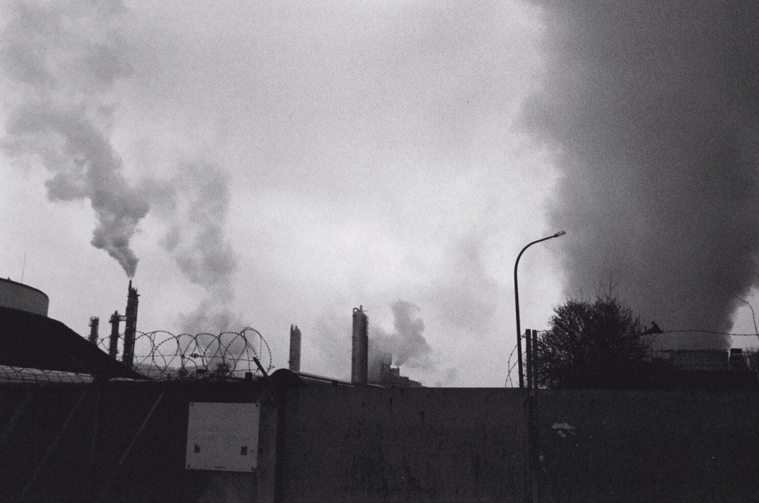 Une usine dans la banlieue de Rouen