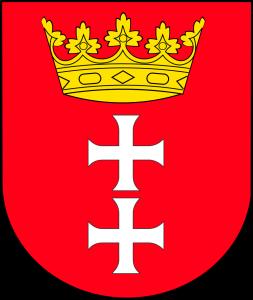 emblème de la ville de Gdansk