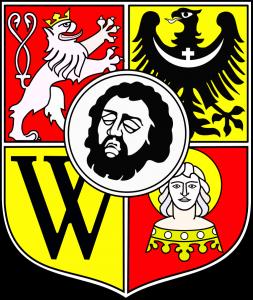 emblème de la ville de Wroclaw