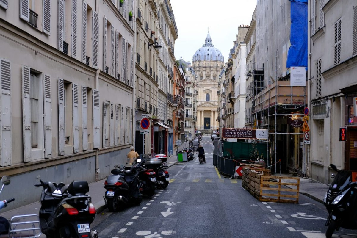la rue du Val de Grâce dans le cinquième arrondissement de Paris