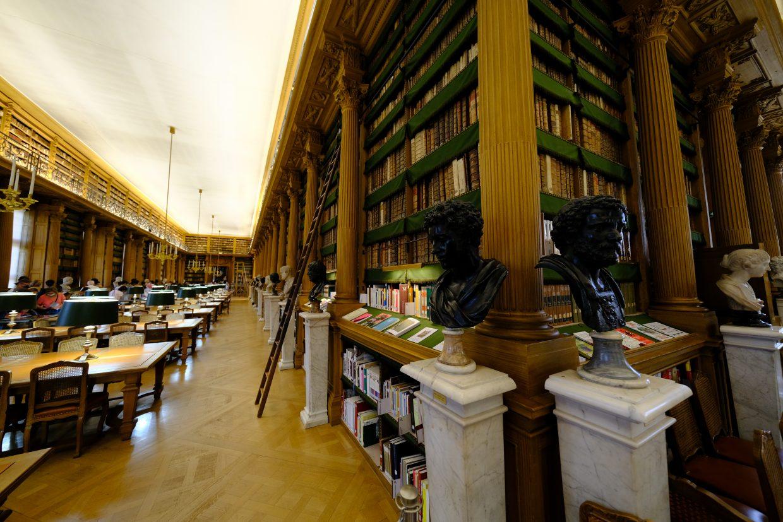 La bibliothèque Mazarine date de 1643