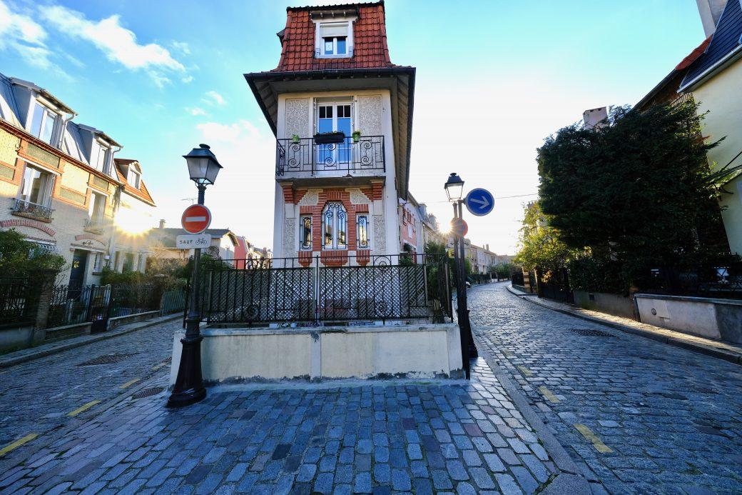 La campagne à Paris au croisement de la rue Jules Siegfried et de la rue Irénée Blanc