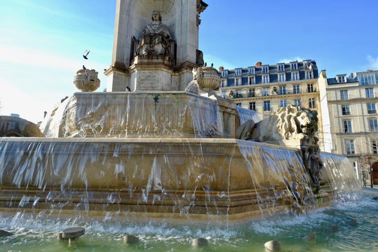 La fontaine Saint-Placide dans le 6 ème arrondissement de Paris