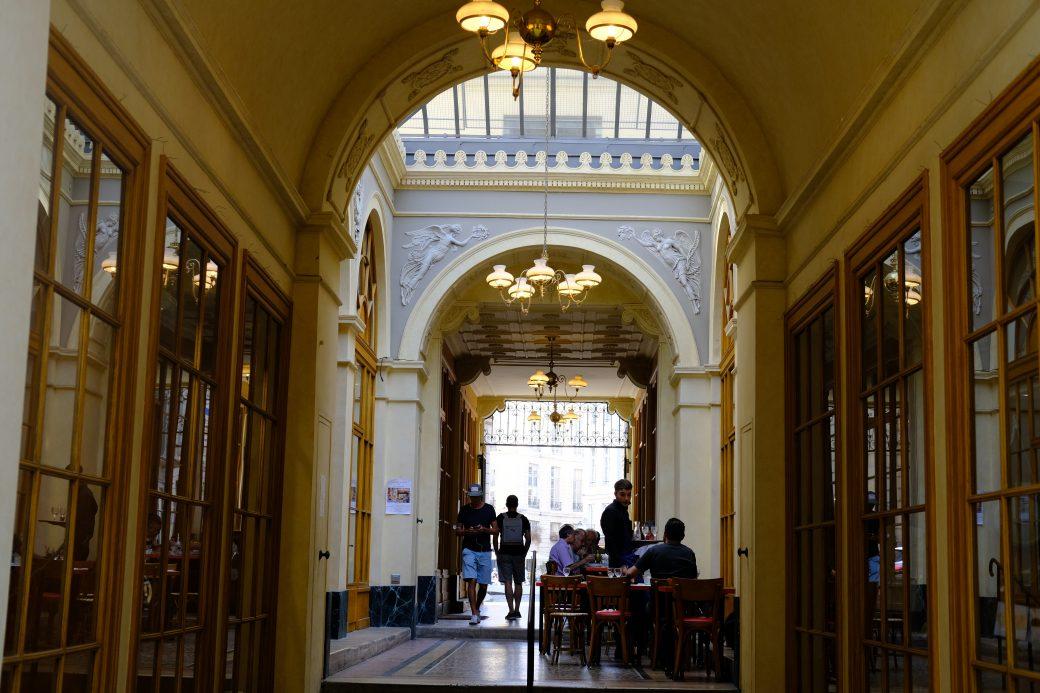 La galerie Vivienne dans le deuxième arrondissement de Paris
