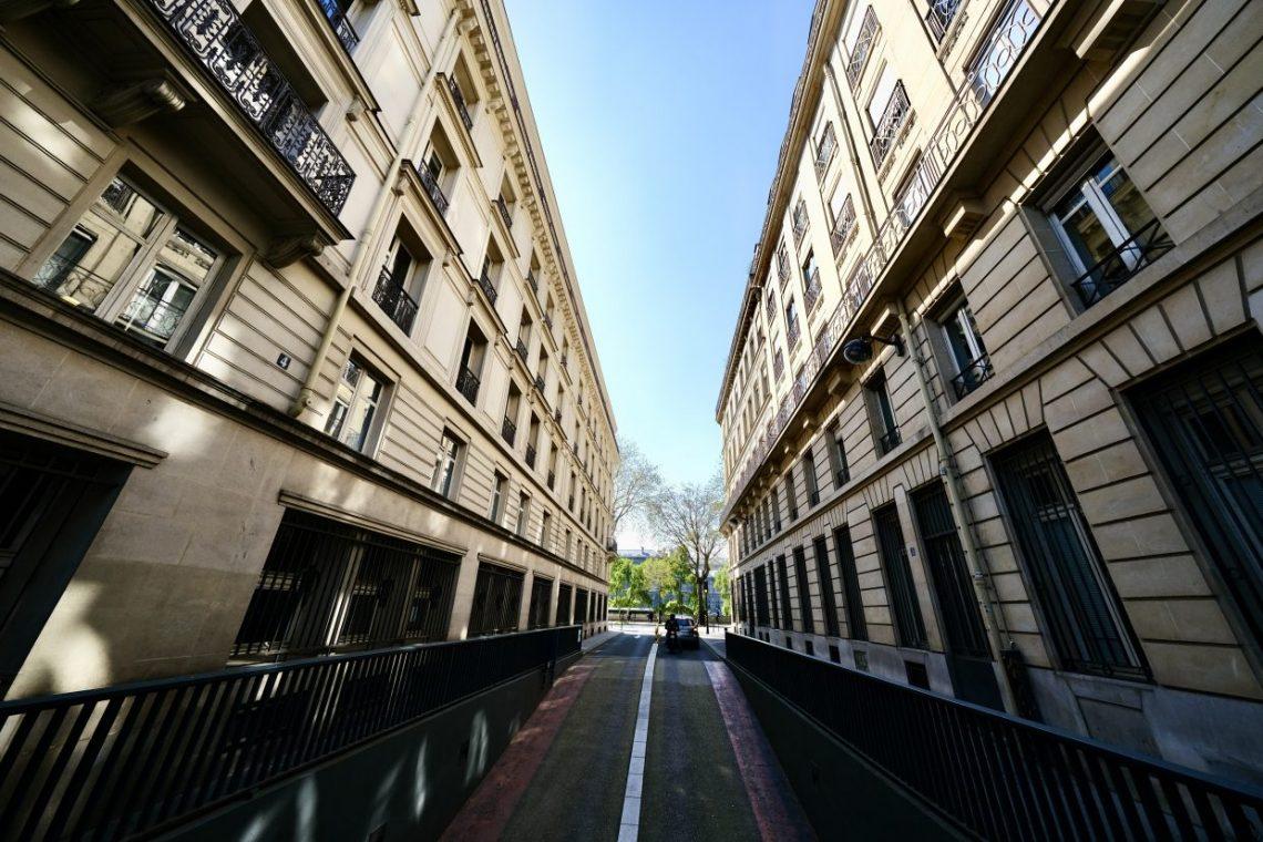 La petite rue de la Tacherie dans le 4 ème arrondissement
