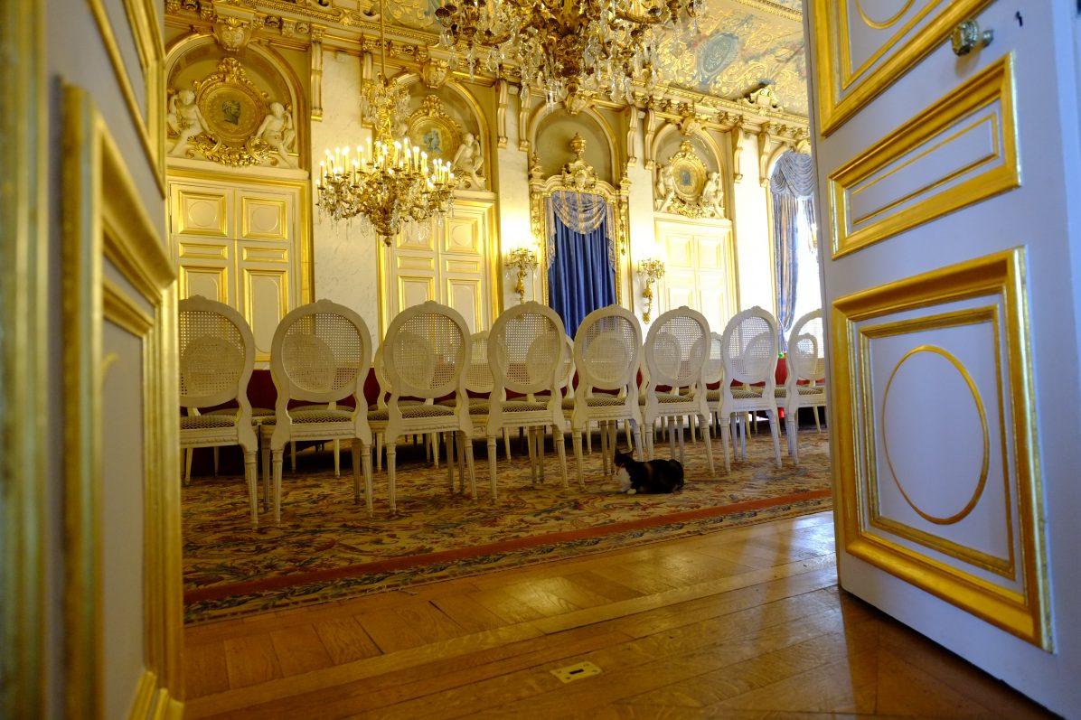 La salle à manger du Quai d'Orsay