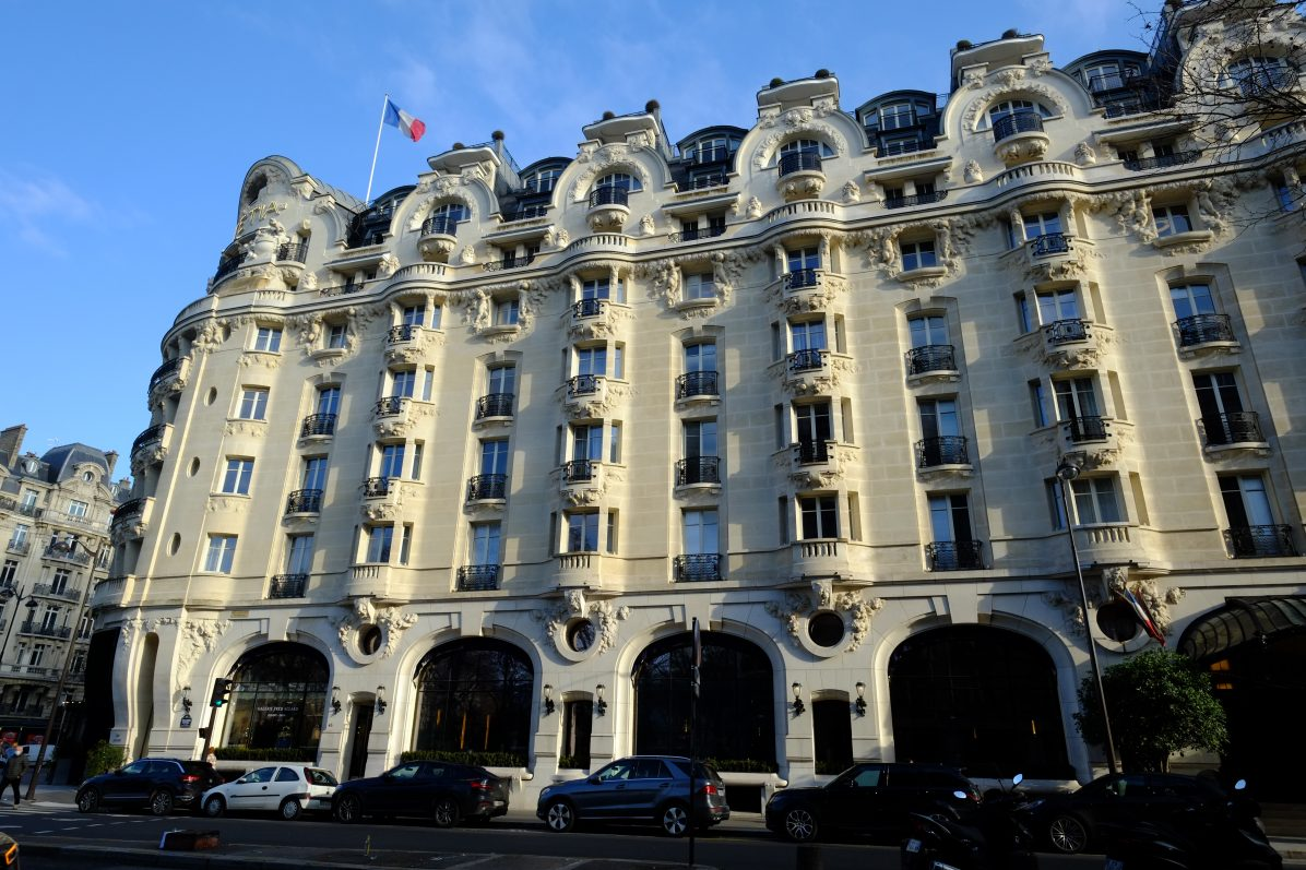 Le Lutecia l'un des plus beaux hôtels de Luxe de Paris
