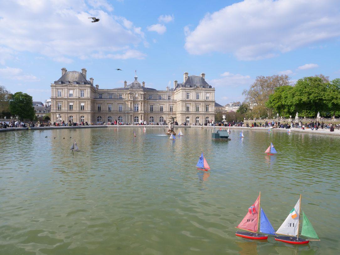 Le bassin du jardin du Luxembourg