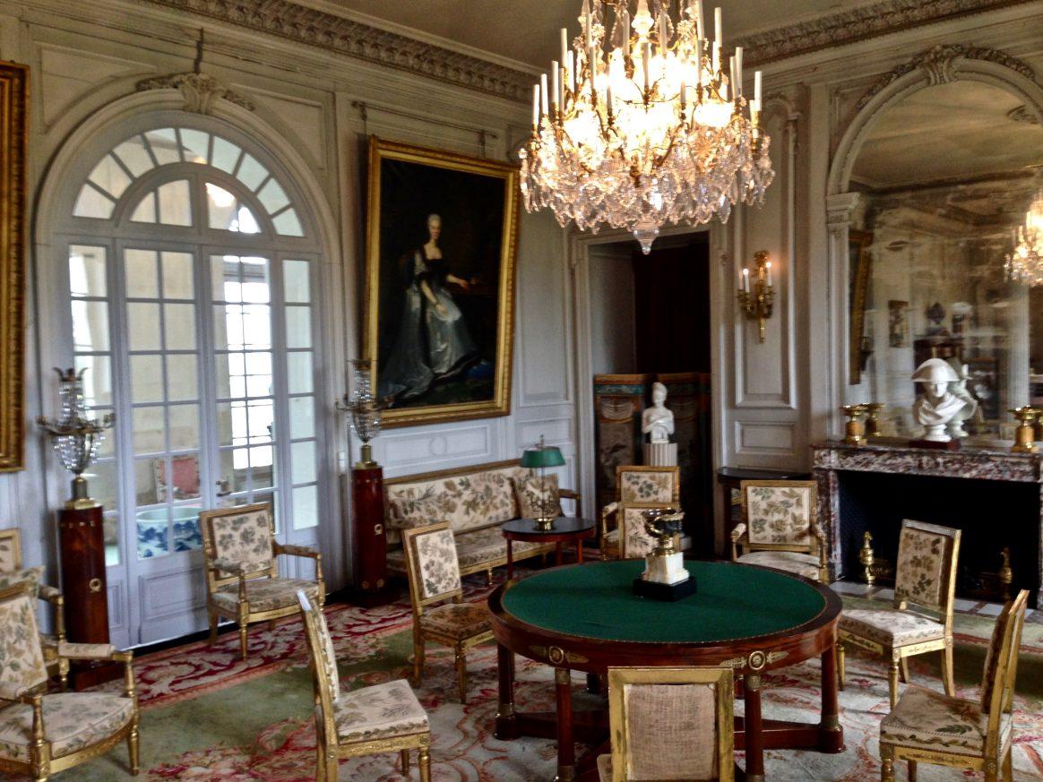 Le grand salon du château de Valençay