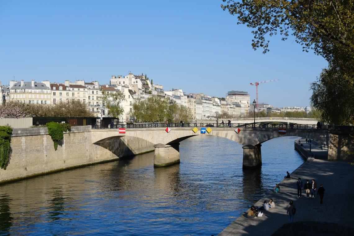 Le petit pont de l'Archevêché