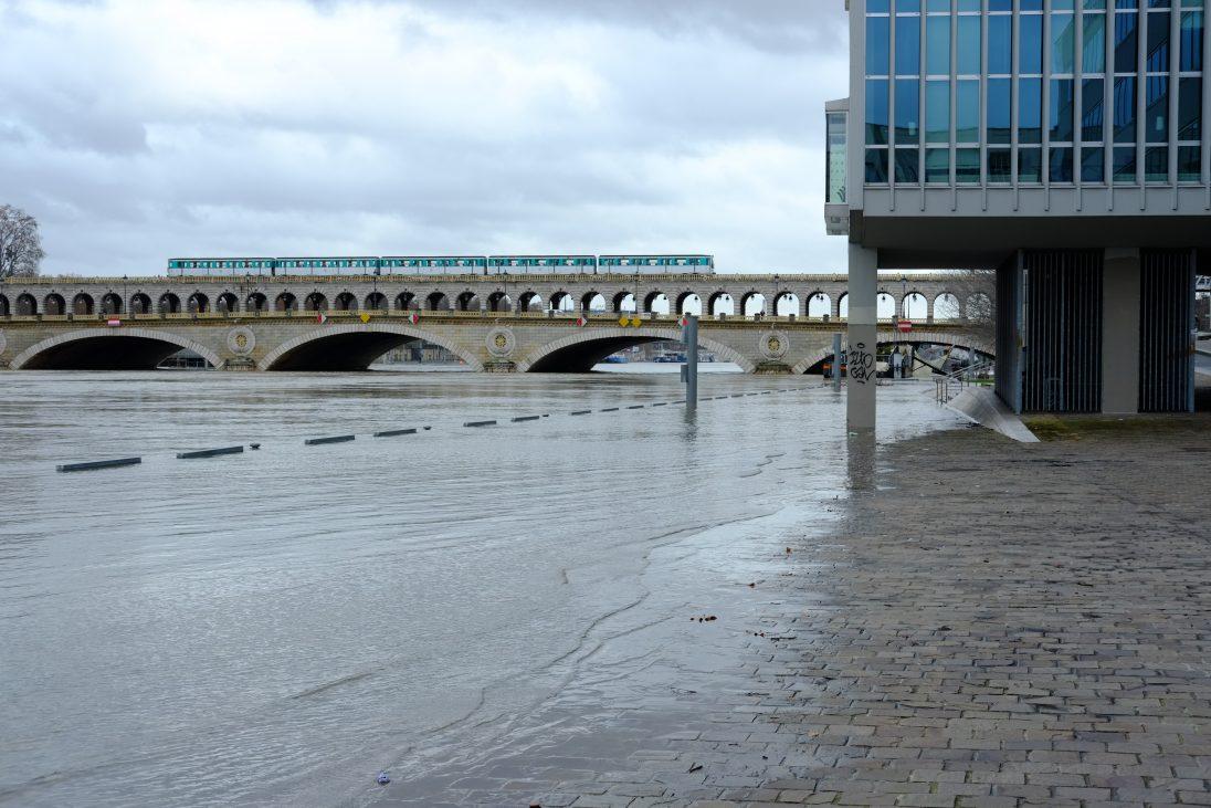 Le pont à double étage de Bercy
