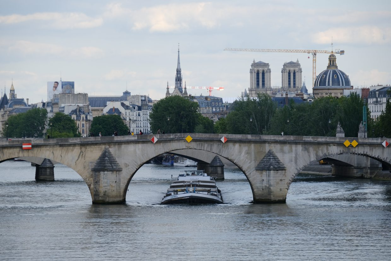 Le pont Royal à Paris