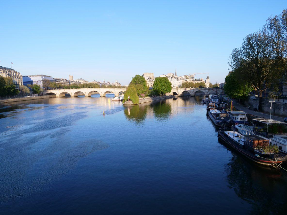 Le pont neuf et l'île de la Cité