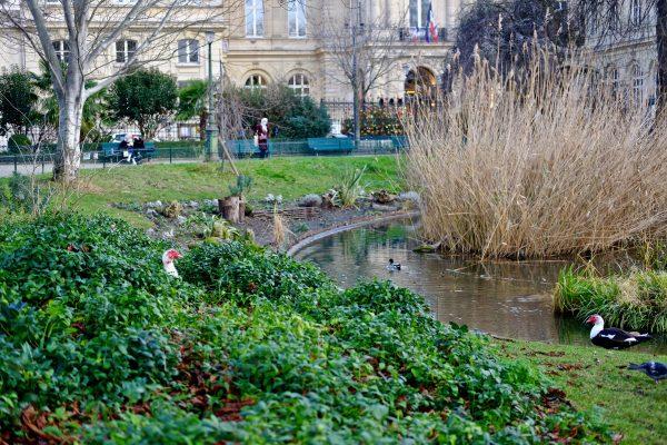 Le square du Temple un îlot de nature en plein Paris