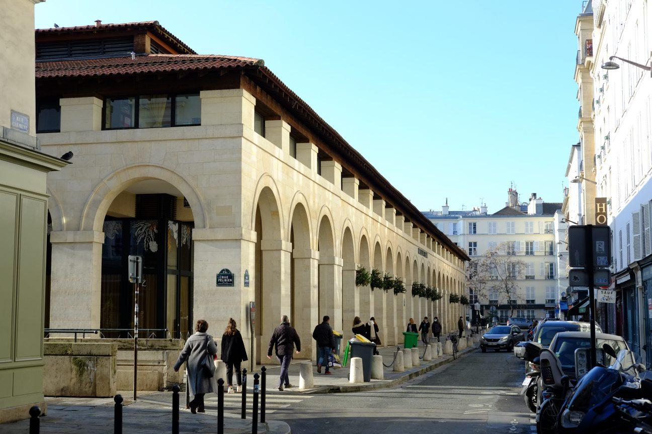 Les arches du marchés de Saint-Germain