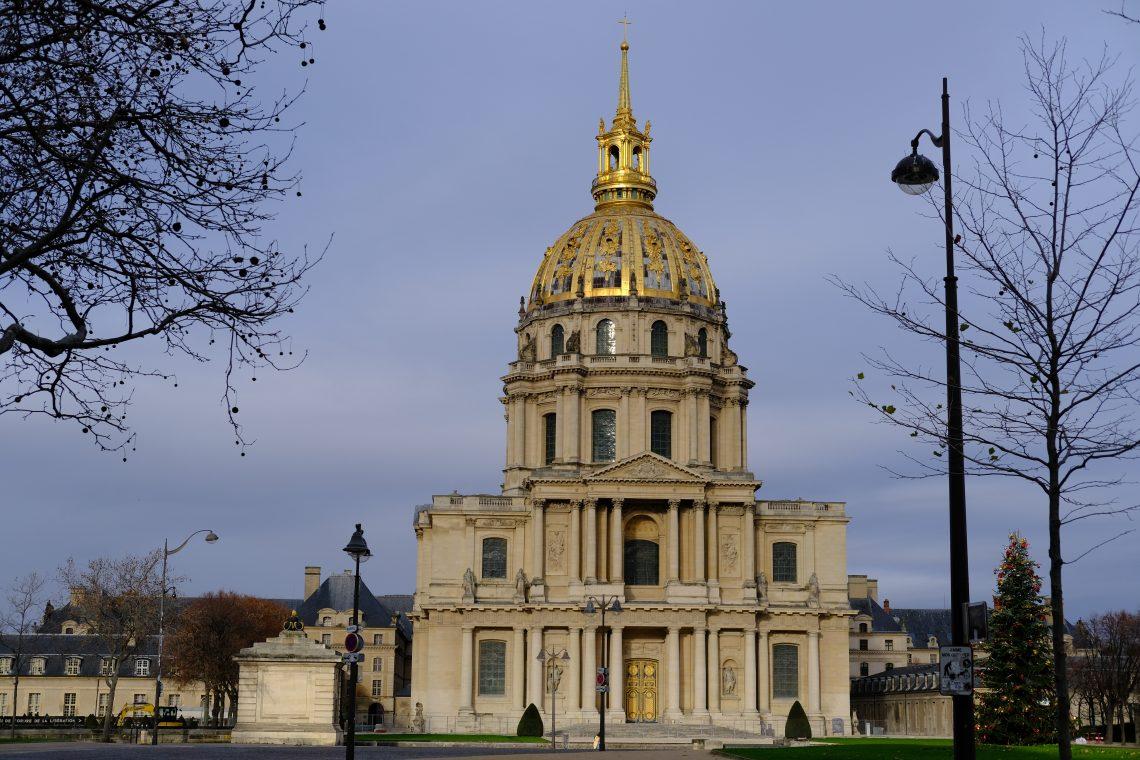 L'hôtel national des Invalides dans le 7 ème arrondissement de Paris