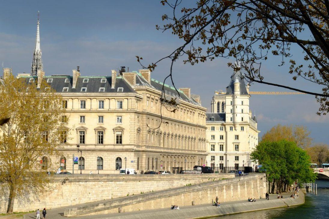L'île de la cité dans le 4 ème arrondissement de Paris