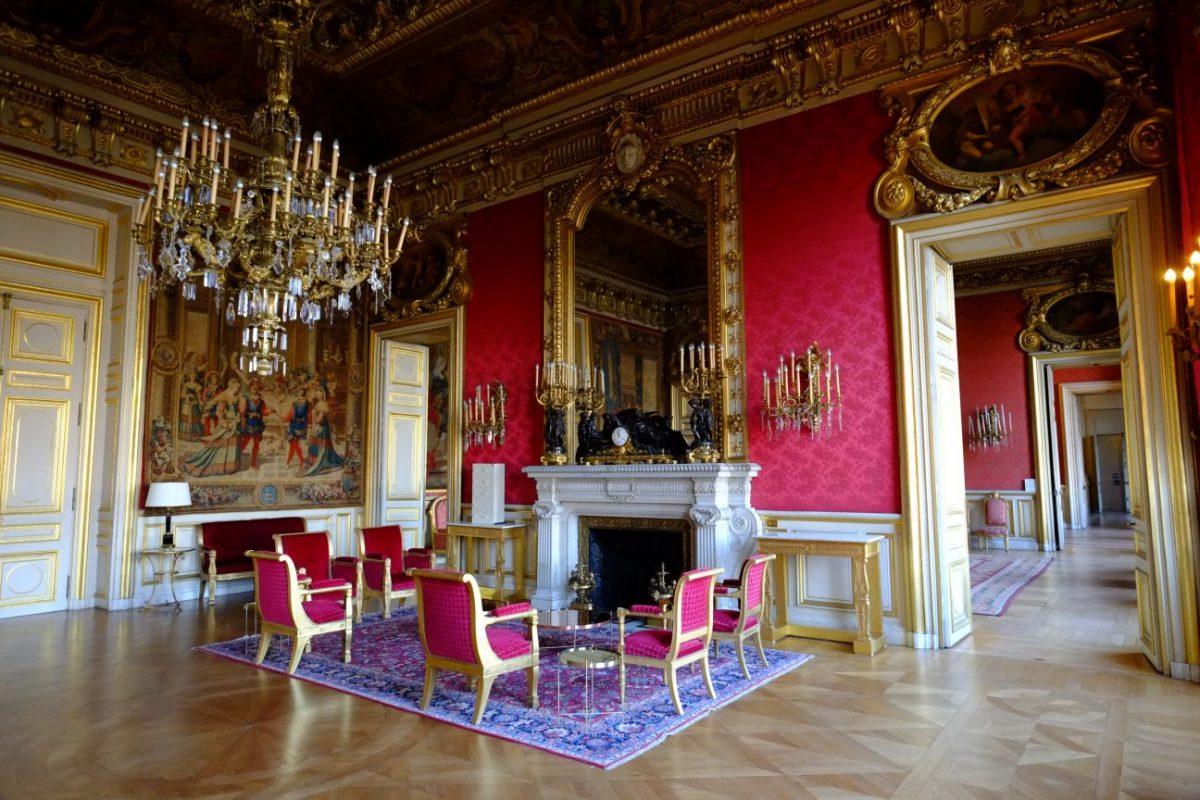 L'un des salons de réception du Quai d'Orsay