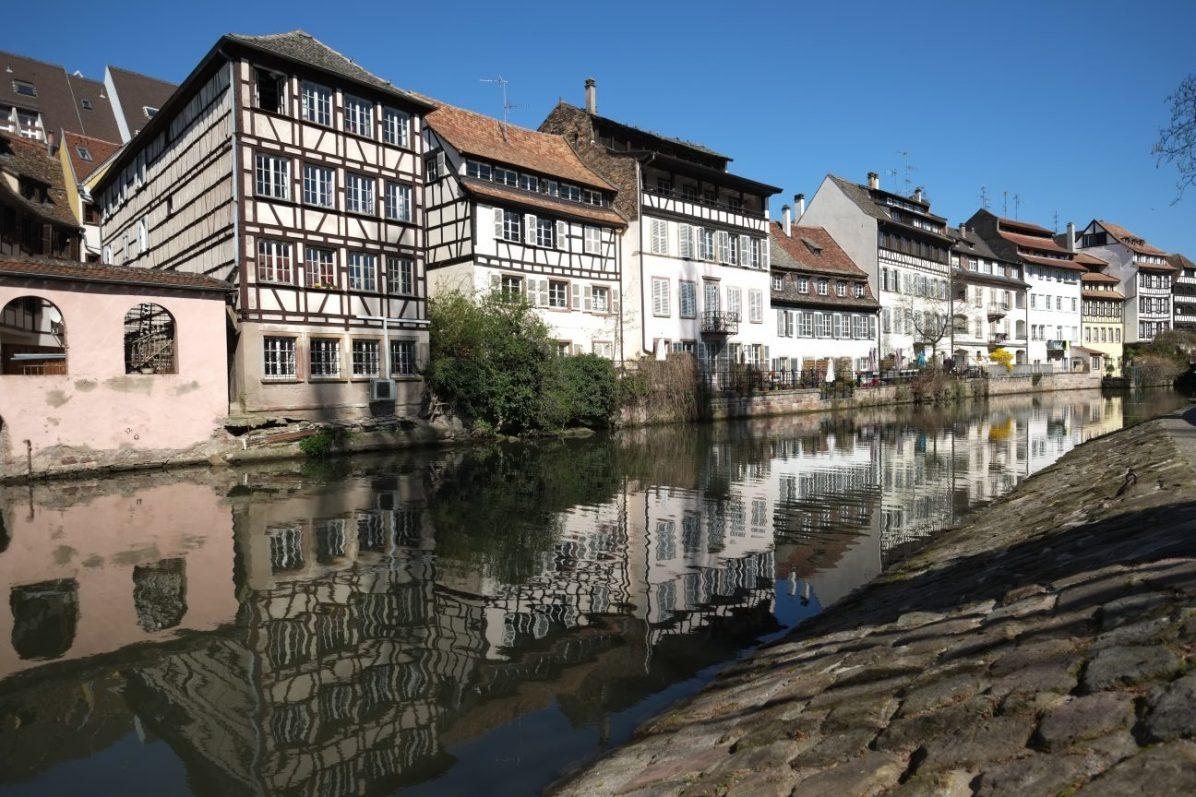 Strasbourg, la préfecture de la région Grand-Est