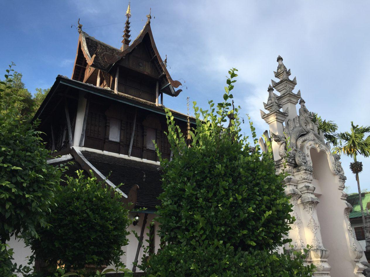 Un temple à Chiang Mai