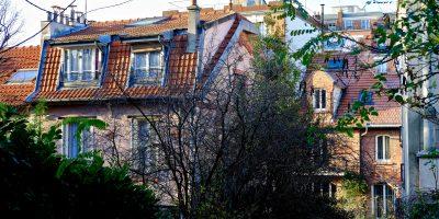 Une vue depuis la rue Georges Pérec