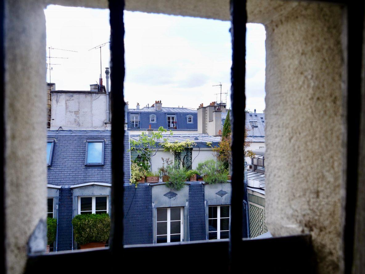 Une vue sur les toits du 7 ème arrondissement