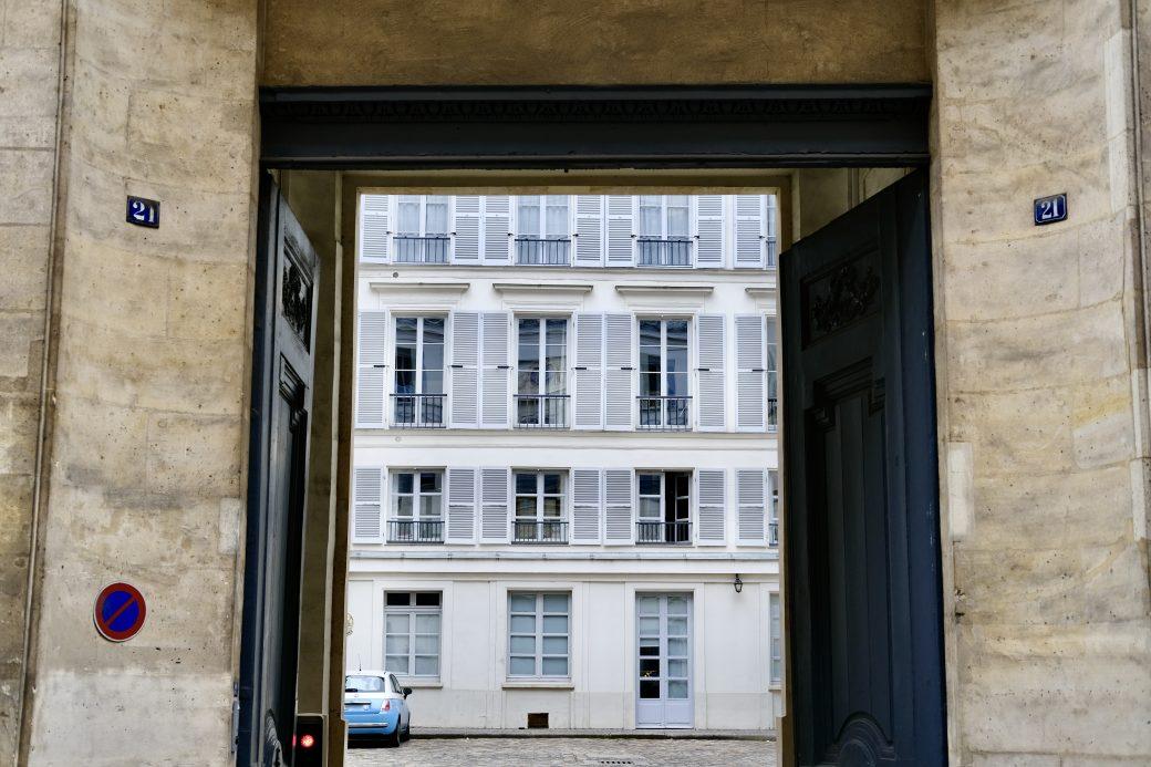 Dans les rues du premier arrondissement de Paris
