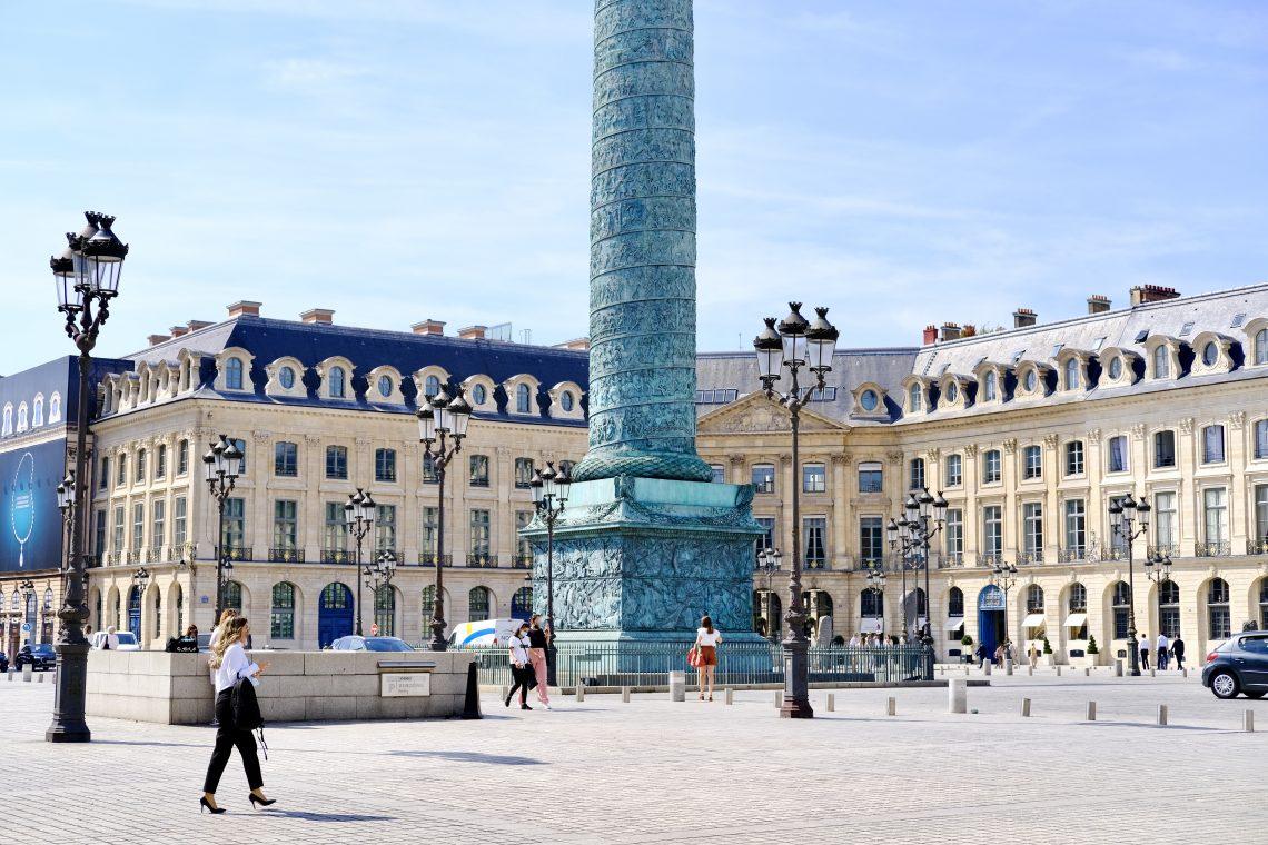 Découvrir la place Vendôme dans le 1er arrondissement de Paris