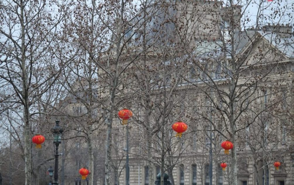 L'Asie à Paris, le nouvel an chinois place de la République