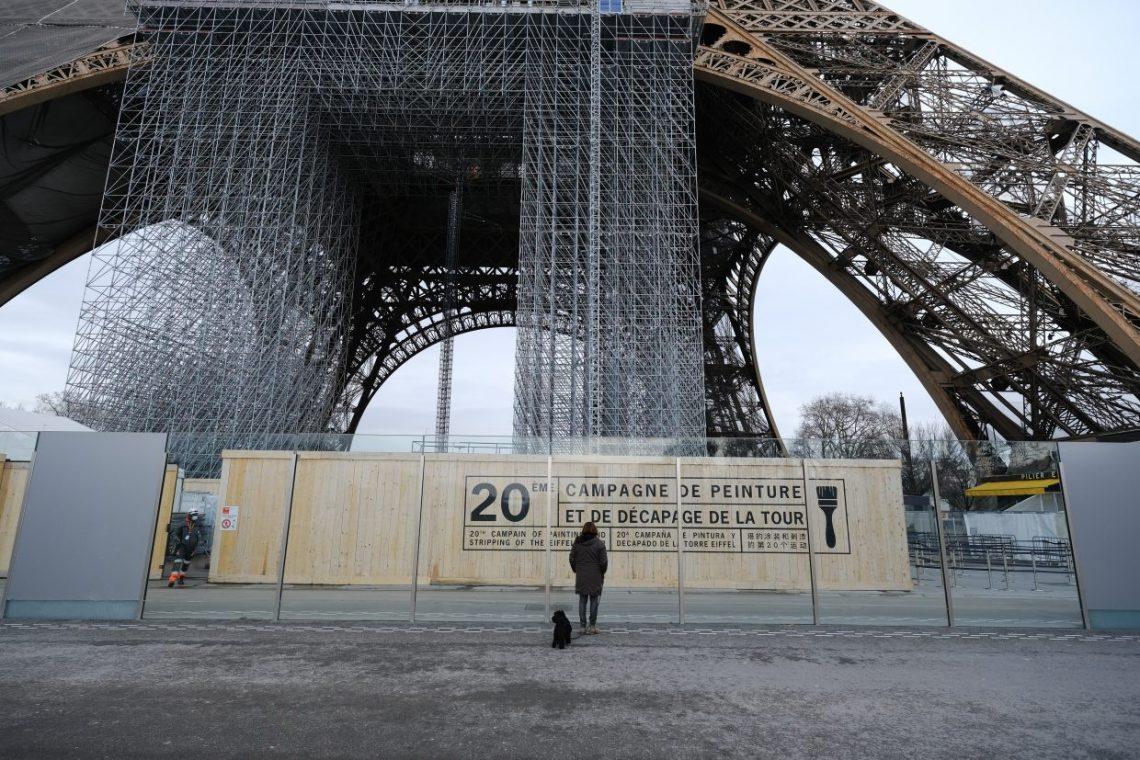 La 20 ème campagne de peinture de la Tour
