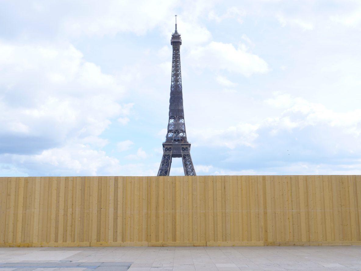 La Tour Eiffel et le Trocadéro deux symboles de Paris en travaux