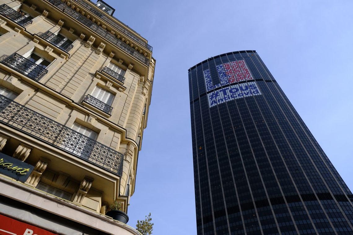 La Tour Montparnasse en février 2021